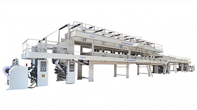 Roll Coater Type SC-CCP120, Ceramic Transfer Paper Coating Drying Line